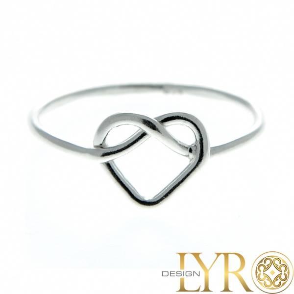 Bilde av Hjerte - Sølvring
