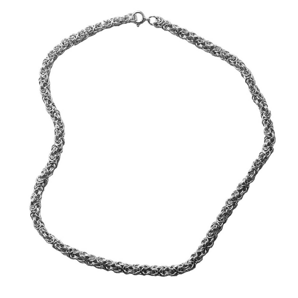 Kongelenke Halskjede 4 mm - Sølv