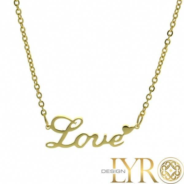 Bilde av Love - Gullfaget smykke